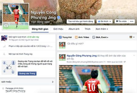 Cong Phuong vo doi tren Facebook, Cong Vinh chieu mo sieu sat thu - Anh 1