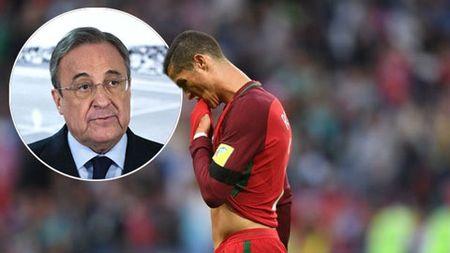 Perez se lam 'cho ra nhe' voi Ronaldo sau Confed Cup - Anh 1