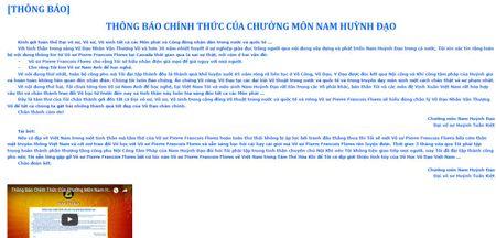 Chuong mon Nam Huynh Dao moi vo su phai Vinh Xuan Nam Anh den Viet Nam - Anh 3