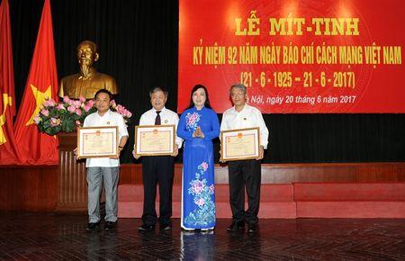 Bao Nhan Dan mit-tinh ky niem 92 nam Ngay Bao chi cach mang Viet Nam - Anh 1