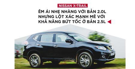 Danh gia Nissan X-Trail: Chay dua ve gia va cong nghe an toan - Anh 3