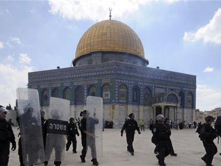 OIC va Palestine phan ung viec Israel dong cua den tho al-Aqsa - Anh 1
