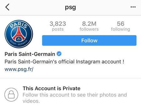 Instagram cua PSG ngung hoat dong vi bi fan Barca 'khung bo'? - Anh 1