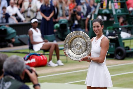 Danh bai Venus, Muguruza lan dau dang quang Wimbledon - Anh 1