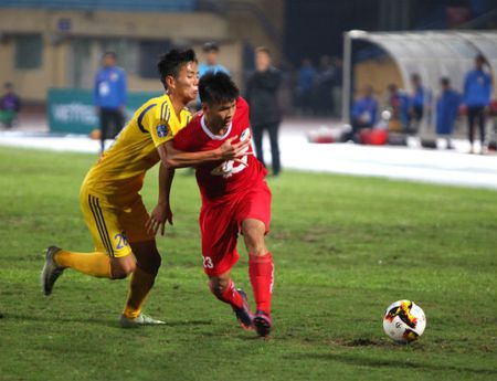 Nam Dinh - Viettel: Vo oa thang hang V-League - Anh 1