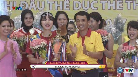 Bong chuyen VTV Cup: Hoa khoi cua xu Han, Ngoc Hoa duoc vinh danh - Anh 1
