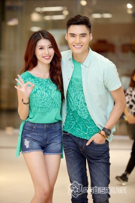 Quynh Chau xac nhan chia tay Quan quan Vietnam's Next top Model 2014 - Anh 1