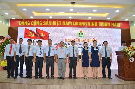 LDLD tinh Soc Trang: Chon CDCS Cty TNHH MTV cap nuoc lam dai hoi diem - Anh 2