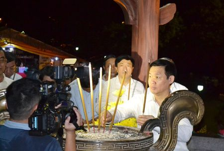 Doan cong tac Chinh phu vieng Nghia trang Liet sy tai Quang Tri - Anh 4