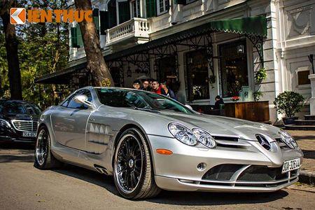 Sieu xe Mercedes SLR McLaren tien ty, 'doc nhat' VN - Anh 4