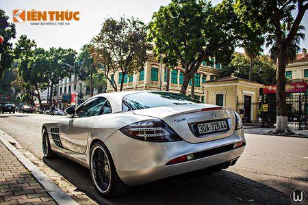 Sieu xe Mercedes SLR McLaren tien ty, 'doc nhat' VN - Anh 5