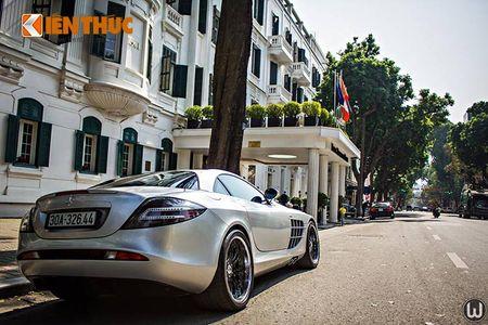 Sieu xe Mercedes SLR McLaren tien ty, 'doc nhat' VN - Anh 6
