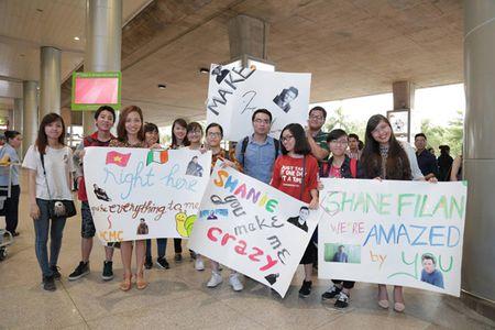 Shane Filan duoc chao don trong vong tay va tieng la het cua fan Viet - Anh 1