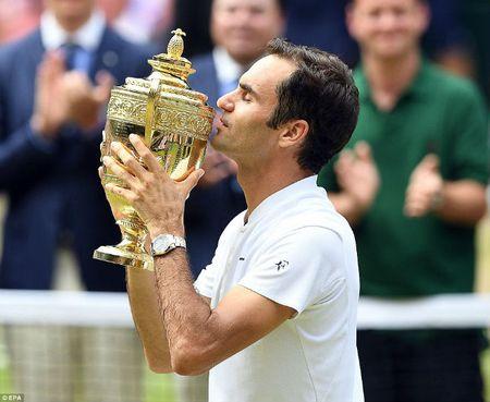 Wimbledon 2017: Federer rang ro len ngoi, Cilic khoc nuc no - Anh 1