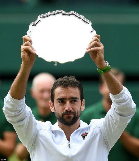 Wimbledon 2017: Federer rang ro len ngoi, Cilic khoc nuc no - Anh 4