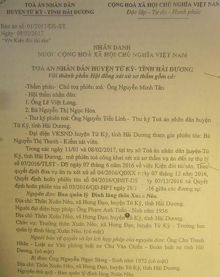 Se xu phuc tham vu an doi tai san dung thoi han - Anh 1