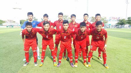 Ha Malaysia, U.15 Viet Nam vao ban ket giai Dong Nam A - Anh 1