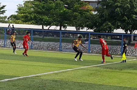 Ha Malaysia, U.15 Viet Nam vao ban ket giai Dong Nam A - Anh 3