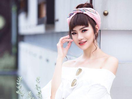 Hoa hau Kieu Ngan ke chuyen lam dep xu Han - Anh 1