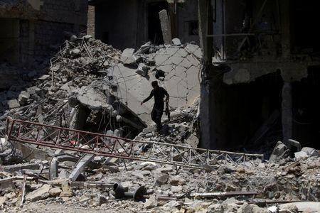 Cuoc san lung chien binh IS lan tron giua Mosul vua giai phong - Anh 1