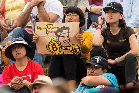Federer vo dich Wimbledon, gianh danh hieu Grand Slam thu 19 - Anh 4