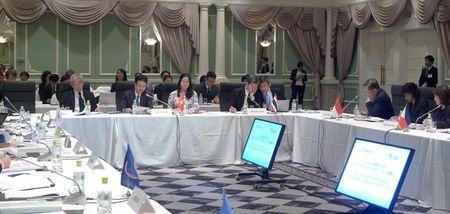 ASEAN - Nhat Ban: Huong toi bao phu CSSK toan dan va gia hoa dan so - Anh 1