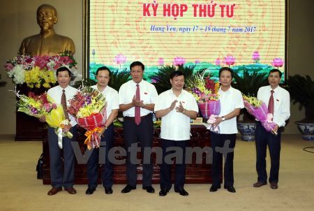 Ong Bui The Cu duoc bau lam Pho Chu tich UBND tinh Hung Yen - Anh 1