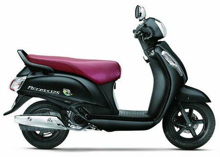 Suzuki Access 125 mau moi, gia 20,8 trieu dong - Anh 1