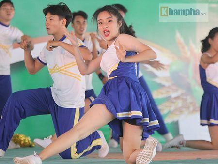 Dan nu sinh khoe tai sac tai giai the duc TPHCM 2017 - Anh 6