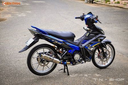 Yamaha Exciter 135 'len do choi' cuc chat tai VN - Anh 2