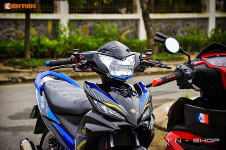 Yamaha Exciter 135 'len do choi' cuc chat tai VN - Anh 3