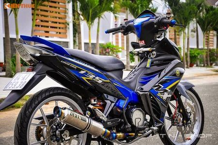 Yamaha Exciter 135 'len do choi' cuc chat tai VN - Anh 7