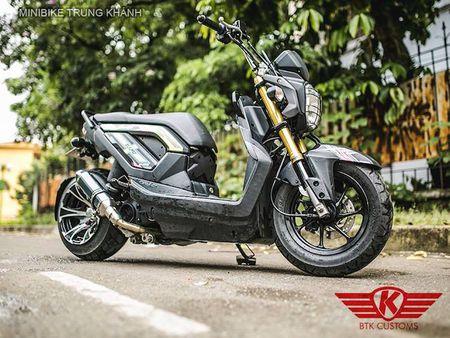 Honda Zoomer X do 'mong to' cua dan choi Ha Noi - Anh 1
