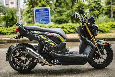 Honda Zoomer X do 'mong to' cua dan choi Ha Noi - Anh 2