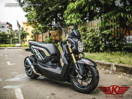 Honda Zoomer X do 'mong to' cua dan choi Ha Noi - Anh 3