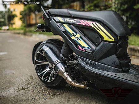 Honda Zoomer X do 'mong to' cua dan choi Ha Noi - Anh 4