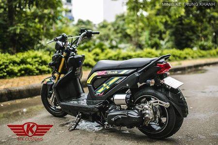 Honda Zoomer X do 'mong to' cua dan choi Ha Noi - Anh 6