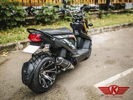 Honda Zoomer X do 'mong to' cua dan choi Ha Noi - Anh 8