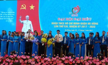 Dai hoi Doan TNCS Ho Chi Minh quan Ha Dong, nhiem ky 2017-2022 - Anh 1