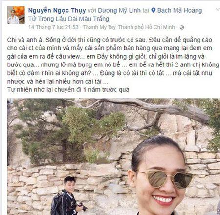 Lo ly do Duong My Linh chia tay Bang Kieu vi bi lua gat, danh dap? - Anh 1