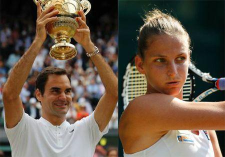 "BXH tennis 17/7: Federer len so 3, ngac nhien voi ""nu hoang"" la mat - Anh 1"