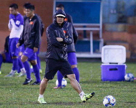 U23 Viet Nam: Tuan Anh tap hang say, HLV Huu Thang van chua vui - Anh 2