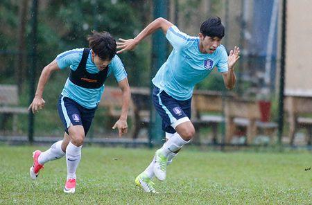 """Dau Cong Phuong, """"hotboy"""" U23 Han Quoc bi mat luyen cong - Anh 3"""
