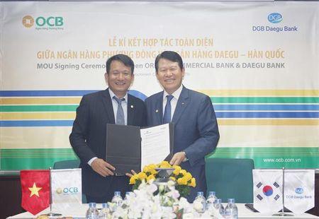 OCB hop tac toan dien voi ngan hang Han Quoc - Anh 1