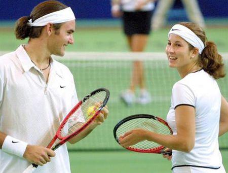 Ve dep man ma cua Mirka, nguoi giup Federer tro thanh thien tai trong lang bong ni - Anh 9