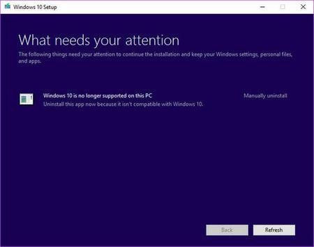 Microsoft ngung ho tro Windows 10 tren mot so dong may tinh - Anh 2
