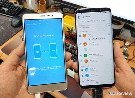 """Cach dung Smart Switch de """"chuyen nha"""" sang Galaxy S8/S8+ - Anh 10"""