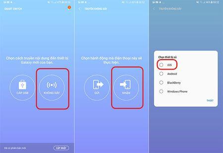 """Cach dung Smart Switch de """"chuyen nha"""" sang Galaxy S8/S8+ - Anh 3"""