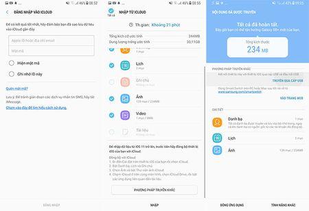 """Cach dung Smart Switch de """"chuyen nha"""" sang Galaxy S8/S8+ - Anh 4"""