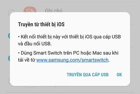 """Cach dung Smart Switch de """"chuyen nha"""" sang Galaxy S8/S8+ - Anh 8"""